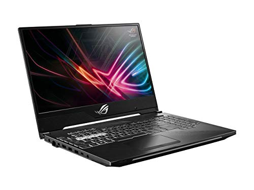 "ASUS ROG Strix Hero II Gaming Laptop, 15.6"" 144Hz IPS Type Full HD, NVIDIA GeForce RTX 2060, Intel Core i7-8750H, 16GB DDR4, 512GB PCIe Nvme SSD, RGB KB, Windows 10, GL504GV-DS74 (Renewed)"