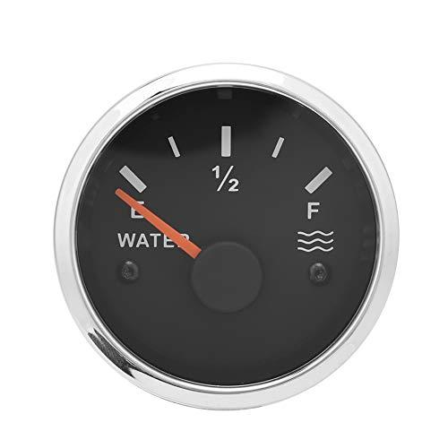 FAMKIT 52mm Stainless Steel Water Level Meter Boat Water Tank Level Indicator Gauge