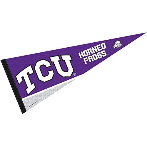 College Flags & Banners Co. TCU Pennant Full Size Felt