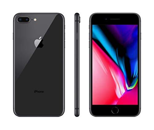 Apple iPhone 8 Plus Smartphone da 5,5 pollici Full HD, Memoria da 64 GB, Camera 12 MP, IP67, 4G, iOS 11, Grigio