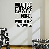 Alta calidad. Vale la Pena? gimnasio adhesivo pared de motivación fitness pérdida de peso dieta pesa rusa de salud y Fitness Spinning Crossfit Workout boxeo UFC MMA