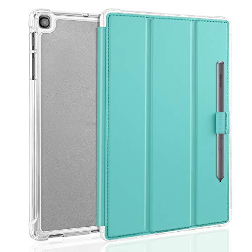 Case for Samsung Galaxy Tab A 10.1 2019, Smart Stand Protective Heavy Duty Rugged Impact Resistant Armor Cover for Samsung Tab A 10.1 Inch Table SM-T510 / SM-T515 2019 Release, Mint Green