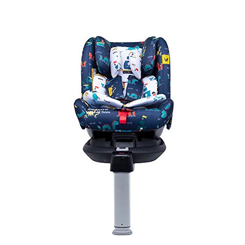 Cosatto All in All Rotate Baby to Child Car Seat   Group 0+123, 0-36 kg, 0-12years, ISOFIX, Extended Rear Facing, Anti-Escape, Easy Access (Sea Monsters)