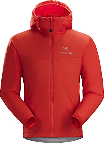 Arc'teryx Atom LT Hoody Men's | Versatile and Lightweight Synthetic Insulated Hoody | Nighthawk, Large