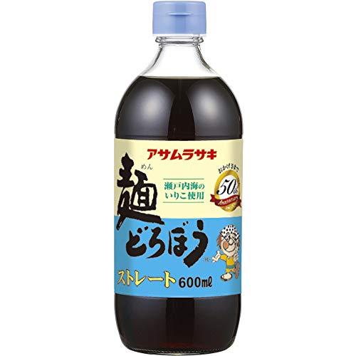 アサムラサキ アサムラサキ 麺どろぼう ストレート 600mL