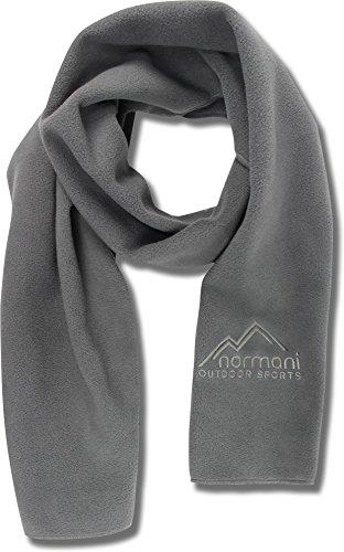 normani Outdoor Sports® Erwachsenen Schal Fleece Farbe Grau