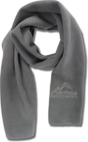 normani Outdoor Sports® Erwachsenen Schal Fleece Farbe Grau