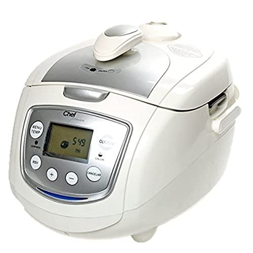 Robot de Cocina CHEF PREMIUM, a presión, con voz: Amazon.es: Hogar
