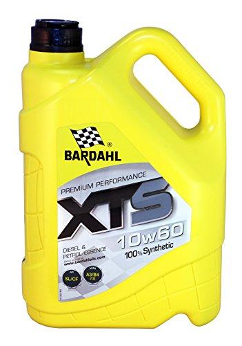HUILE MOTEUR BARDAHL XTS 10W60 100% Synthétique - Essence & Diesel 5L