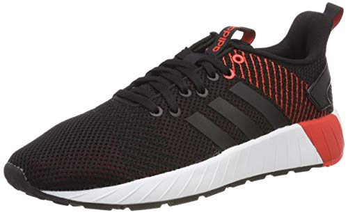 adidas Questar BYD, Scarpe da Running Uomo, Nero (Core Black/Core Black/Active Red Core Black/Core Black/Active Red), 44 EU