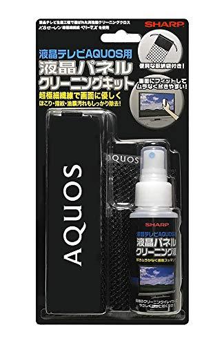 シャープ 液晶パネルクリーニングキット「実際に、AQUOSの生産工程で使われています」 CA300CK