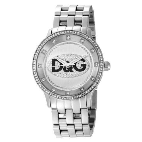 Dolce & Gabbana DW0145 - Reloj de Caballero de Cuarzo, Correa de Acero Inoxidable Color Negro