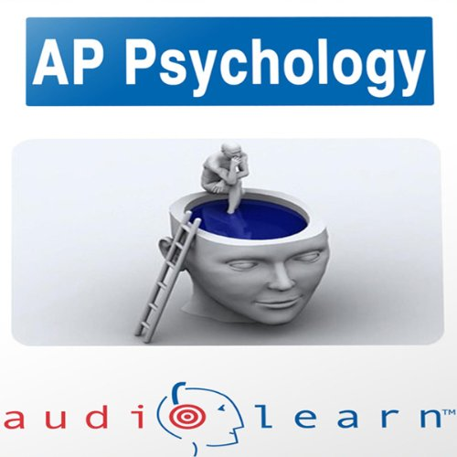 AP Psychology Test AudioLearn Study Guide audiobook cover art