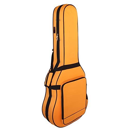 Estuche Guitarra Clásica Superior, Foam, Color Naranja