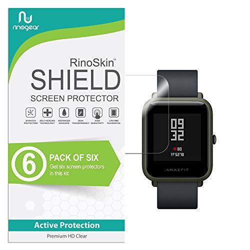 (6-Pack) RinoGear Xiaomi Huami Amazfit Bip Screen Protector ...