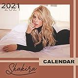 Shakira: 2021-2022 Calendar - 12 months - 8.5 x 8.5 glossy paper