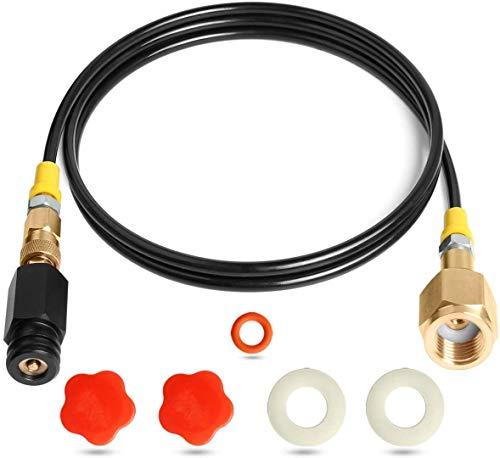 OrangeClub CO2 Adapter zur Befüllung von Sodastream Soda Club 425g Wassersprudler W21.8