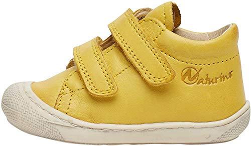 Naturino Cocoon VL-Lauflernschuh aus Leder-Gelb gelb 26