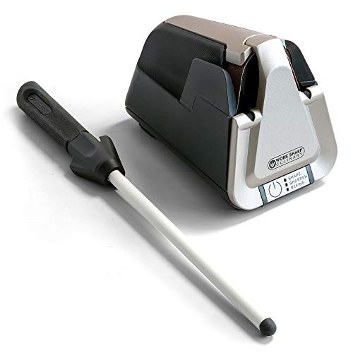 Work Sharp Culinary Kitchen Knife Sharpener with Ceramic...