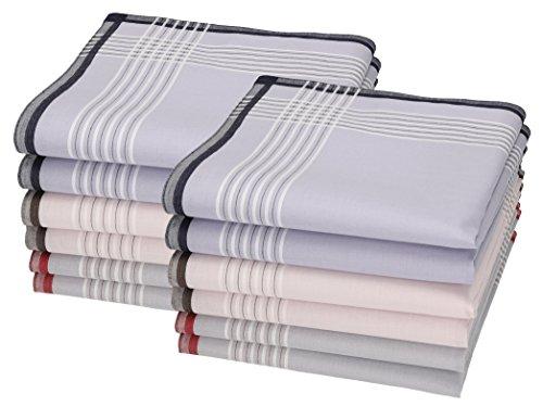 Betz 12 pañuelos para Hombres Leo 4 100% algodón tamaño 40x40 cm Color Dessin 5