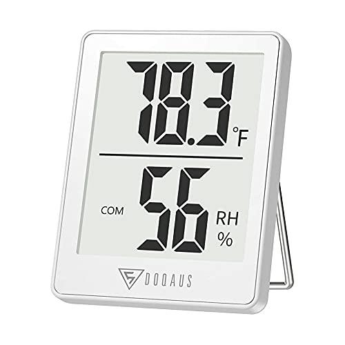 RITERS - Termómetro de interior con mini higrómetro digital para interior y medición de humedad de alta precisión