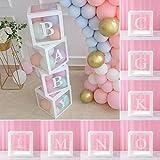 Transparente Ballon Baby Box Vorschlag Geständnis Layout Baby Geschenk-Box Überraschungsbox