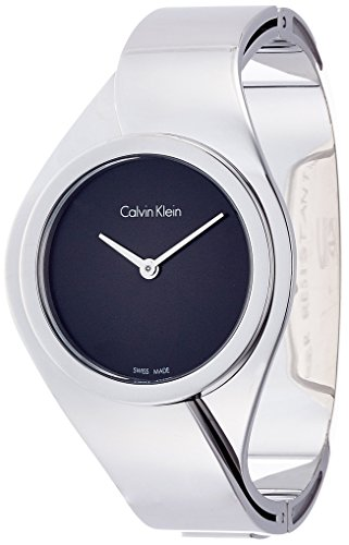 Calvin Klein dames analoog kwarts smartwatch polshorloge met roestvrij stalen armband K5N2S121