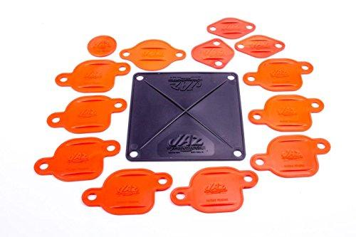 Jaz Products 730-003-01 Big Block Engine Block-Off Kit for Holley Carburetor # 4500