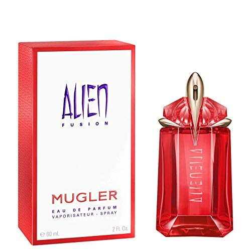 100% Authentic MUGLER Alien Fusion EDP 60ml Made in France + 2...