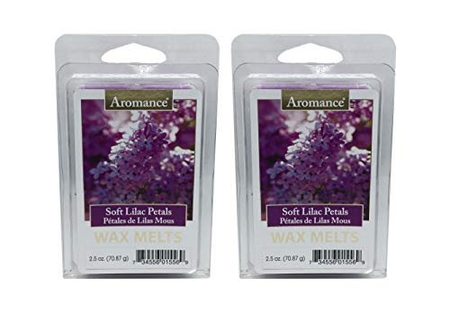 Aromance Soft Lilac Petals Scented Wax Melts 2PK