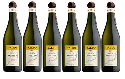 Valdo Legatura Spago Prosecco Treviso DOC [ 6 Bottiglie da 750 ml ]