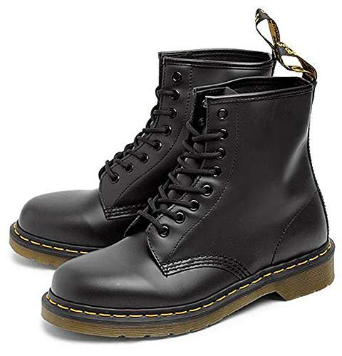 [ドクターマーチン] 8ホール ブーツ 8HOLE BOOT 1460W SMOOTH R11821006 / R11821600 ブーツ レディース レースアップ ブーツ 11821006(BLACK) 25.0(UK6/US8) [並行輸入品]