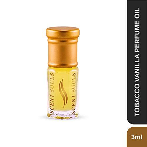 Scent Souls Tobacco Vanilla Long Lasting Attar Fragrance Perfume Oil For Men & Women- 3 ml
