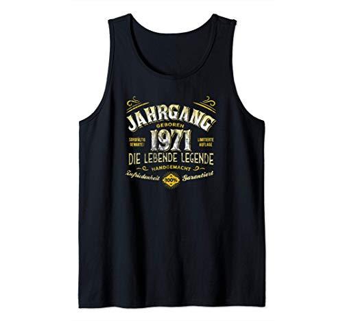 50. Geburtstag Jahrgang Geboren 1971 Limitierte Auflage Tank Top