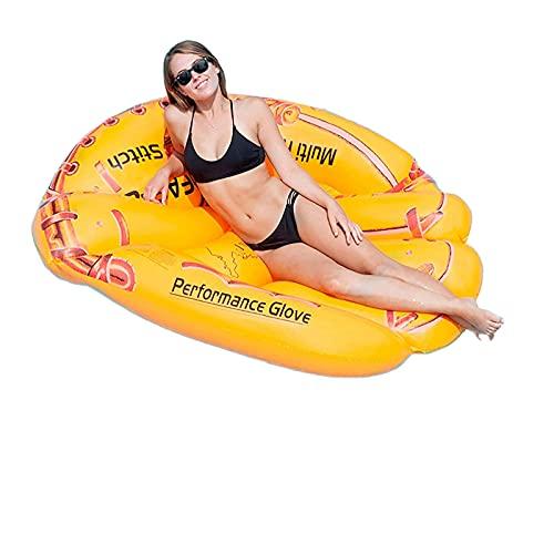 Piscina flotante para adultos piscina inflable para adultos adecuada para adultos agua de alta resistencia lago flotante piscina a la deriva reclinable piscina de natación para hombres hamaca flotante
