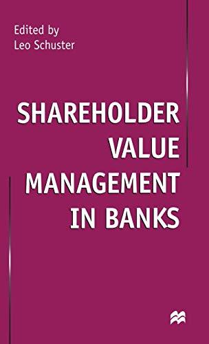 Shareholder Value Management in Banks