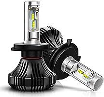 Autofeel【正規品】 ヘッドライト LED H4 6500K 2000LM DC9V-32V 社製LEDチップ搭載モデル 5年保証