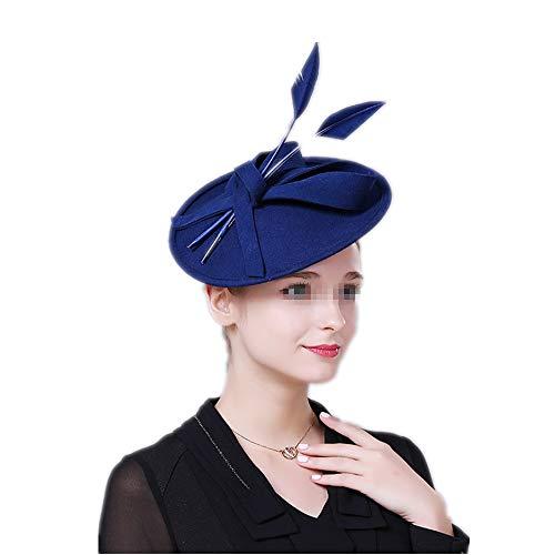 Ouuager-Home Fascinator, hoofdband, voor dames en bruid, retro fascinators, hoed van 20 jaar 50 stuks, pillbox, cocktailthea, party, hoofdwear met sluier, voor meisjes en vrouwen