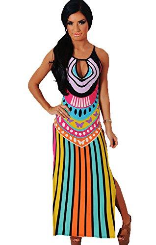 YALI - Golf-Kleider für Mädchen in Orange, Größe L