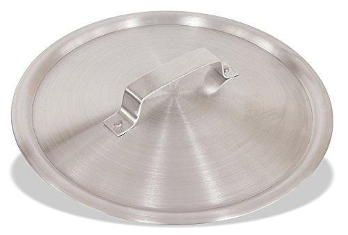 Crestware Frydc14 14' Aluminum Fry Pan Dome Cover, Extra Large, Silver Metallic