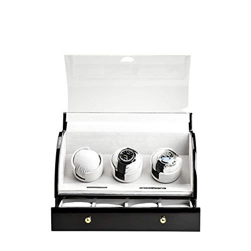 YLJYJ Reloj mecánico Simple para Hombre, Espejo de Cristal Templado Mineral / 30 M Resistente al Agua, Reloj Deportivo Completamente automático para Hombre con Calendario, B