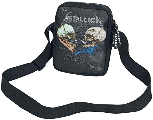 Metallica Metallica Sad But True Cross Umhängetasche, Medium, Black