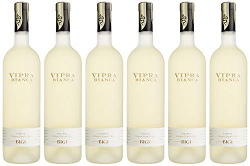 Bigi Vipra Bianca Umbrien IGT Weißwein trocken (6 x 0.75 l)