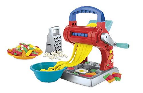 Play-Doh Kitchen Creations Super Nudelmaschine Spielset für Kinder ab 3 Jahren mit 5 Farben