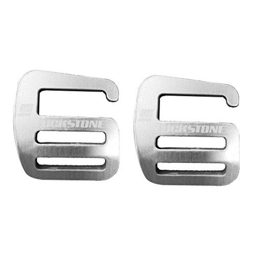SaniMomo 2 x Leicht G Haken Gurtband Schnalle Gürtelschnalle Karabinerhaken Karabiner Clip für 25 mm breites Gurtband