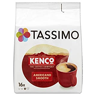 Tassimo Kenco Americano Smooth Coffee Pods (Case of 5, Total 80 pods, 80 servings) (B003BZT45I) | Amazon price tracker / tracking, Amazon price history charts, Amazon price watches, Amazon price drop alerts