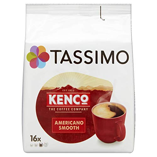 TASSIMO Kenco Americano Smooth Kaffee Kapseln Pods T Discs 5er Pack, 80 Getränke
