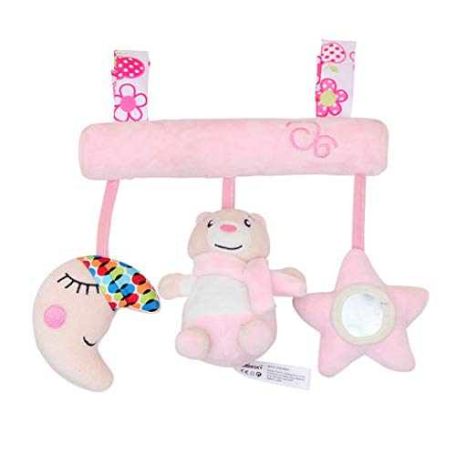Fascigirl Plush Early Development Squeaky Cute Stroller Toy Hanging Toy Baby Toy Tool