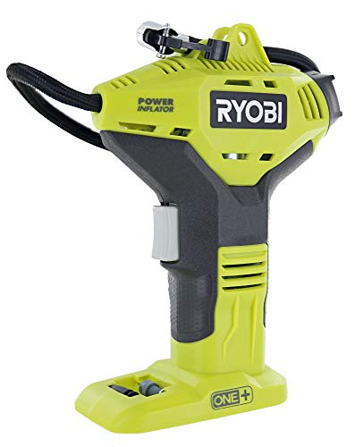 Ryobi Portable Power Inflator for Tires [NEW DIGITAL GAUGE]...
