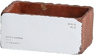 アビテ(Habiter) フラワーベース・花器 ブラウン L ストラーダ レクトポット WIN-007-BR
